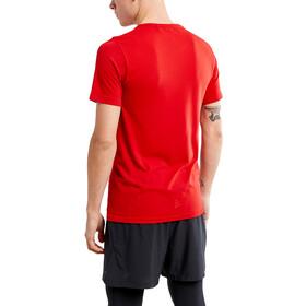 Craft Fuseknit Light Maglietta girocollo a maniche corte Uomo, bright red